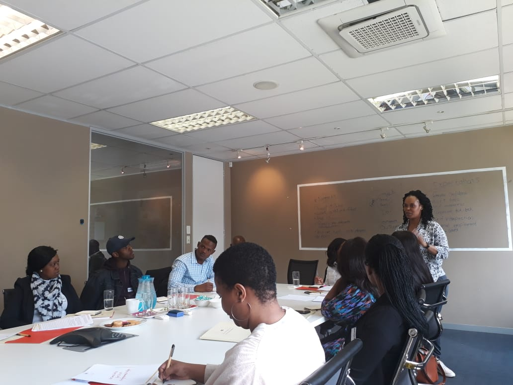 Personal Branding Training at Career Readiness Workshop